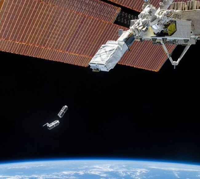 P-POD cubesat launch