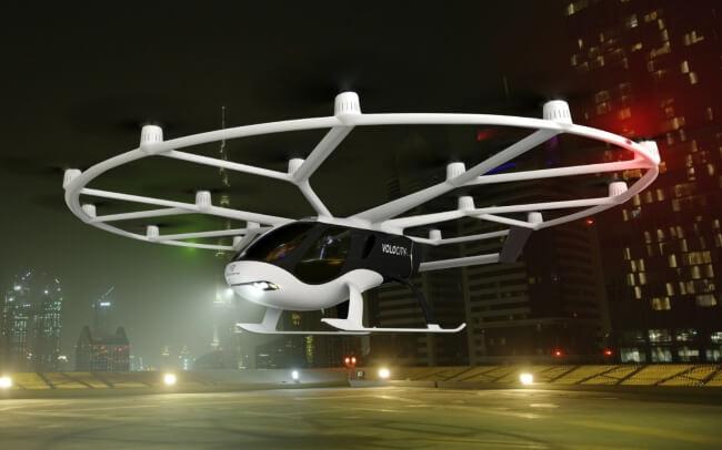 lilium air taxi volocopter
