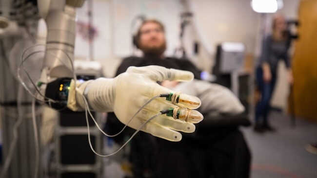 brain-controlled prosthetic limbs