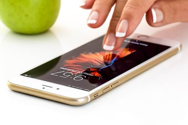 smartphone touchscreen
