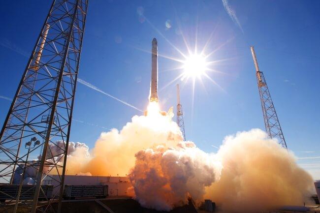 hydrogen metal rocket launch