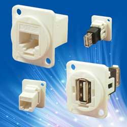 New connectors for medical diagnostic and treatment equipment