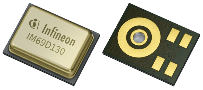 The XENSIV MEMS-based microphones from Infineon