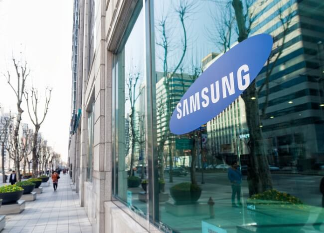 Samsung research investment
