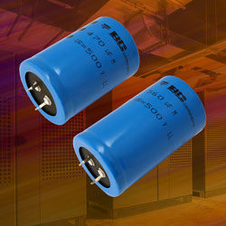 Vishay Tiny Snap In Power Aluminium Capacitors Target
