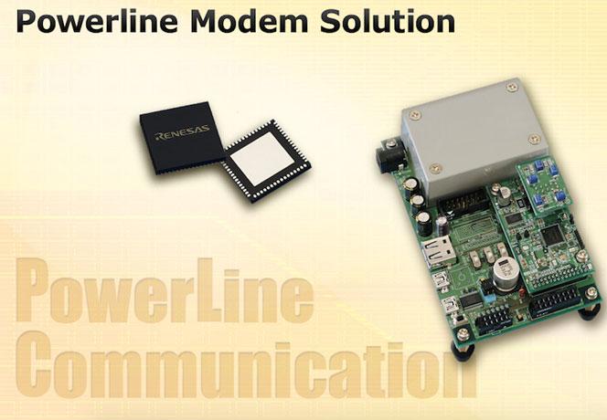 Powerline-modem-solutions