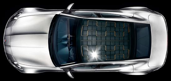 solar panel car tesla
